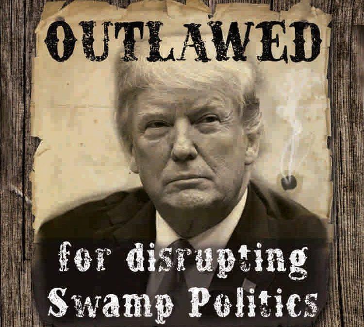 Why the mainstream media treats Trump as an Outlaw