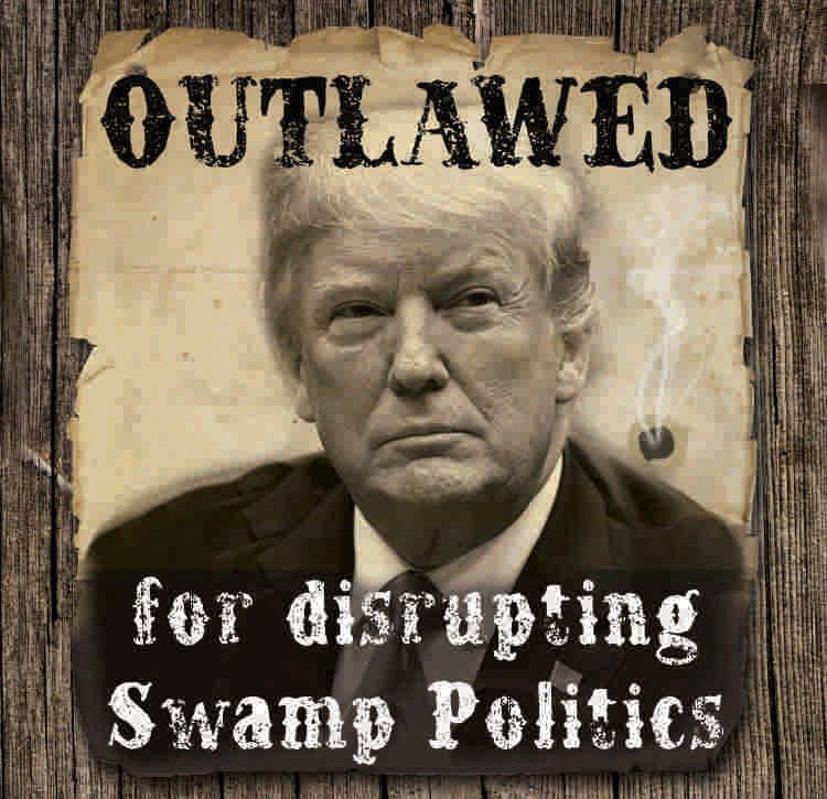 Trump outlawed by mainstream media
