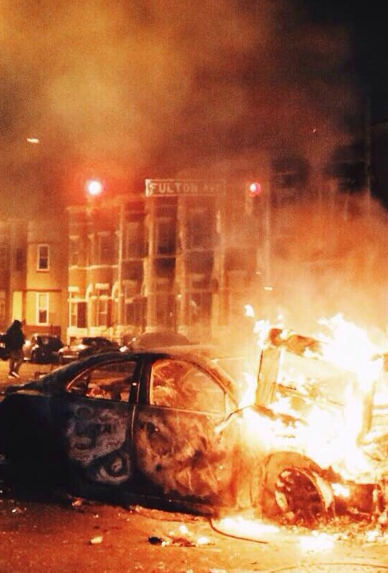 riots after the election